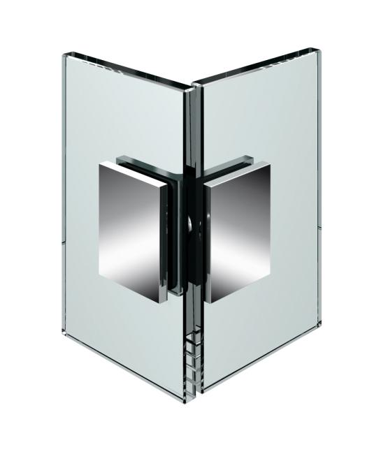produkt detail winkelverbinder glas glas 90 flinter flamea fluture nivello. Black Bedroom Furniture Sets. Home Design Ideas